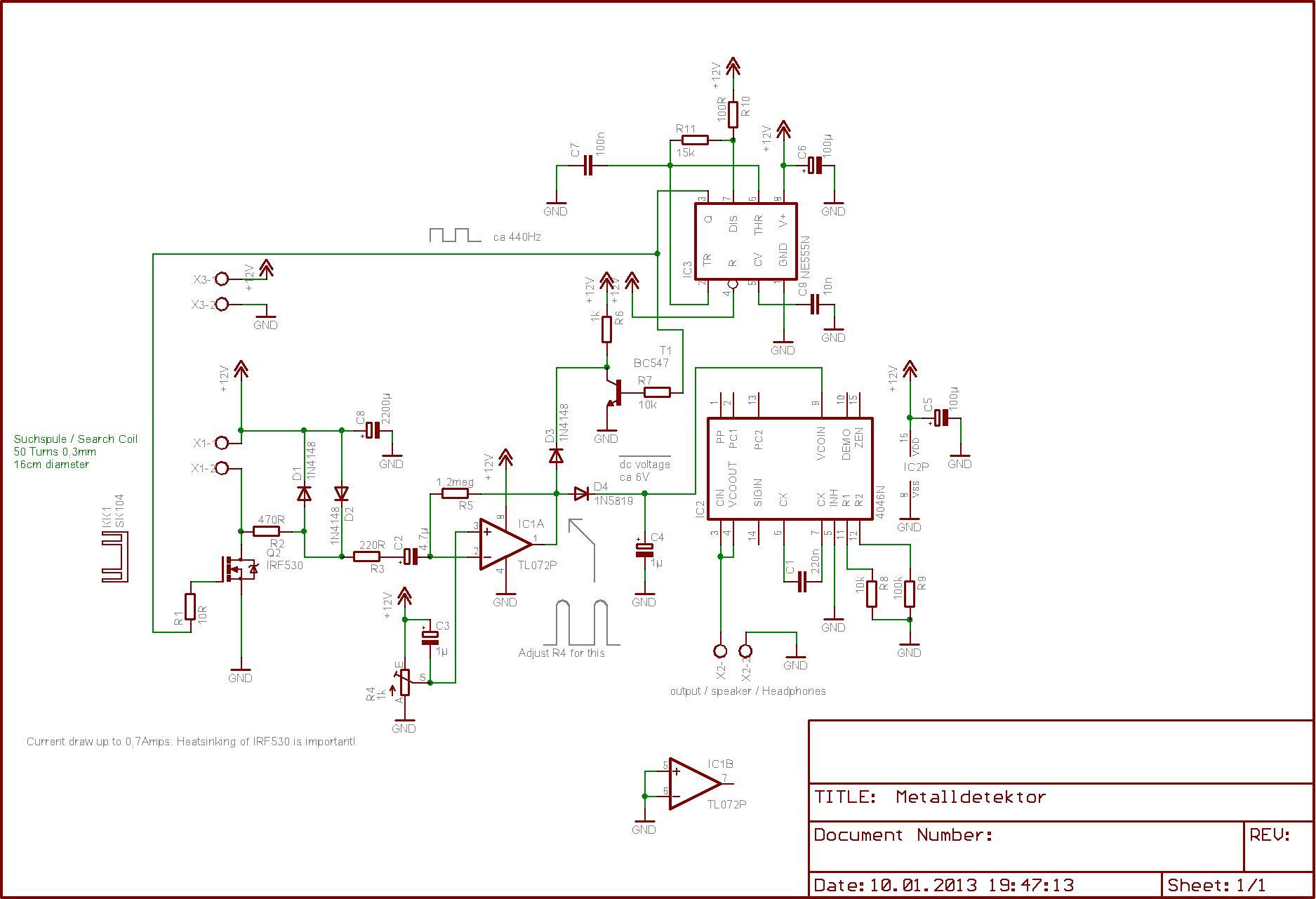 Index Of Image Cheap Metal Detector Circuit Schematic 1357845104 76 Ft148849 Metalldetektor Shematik 160k